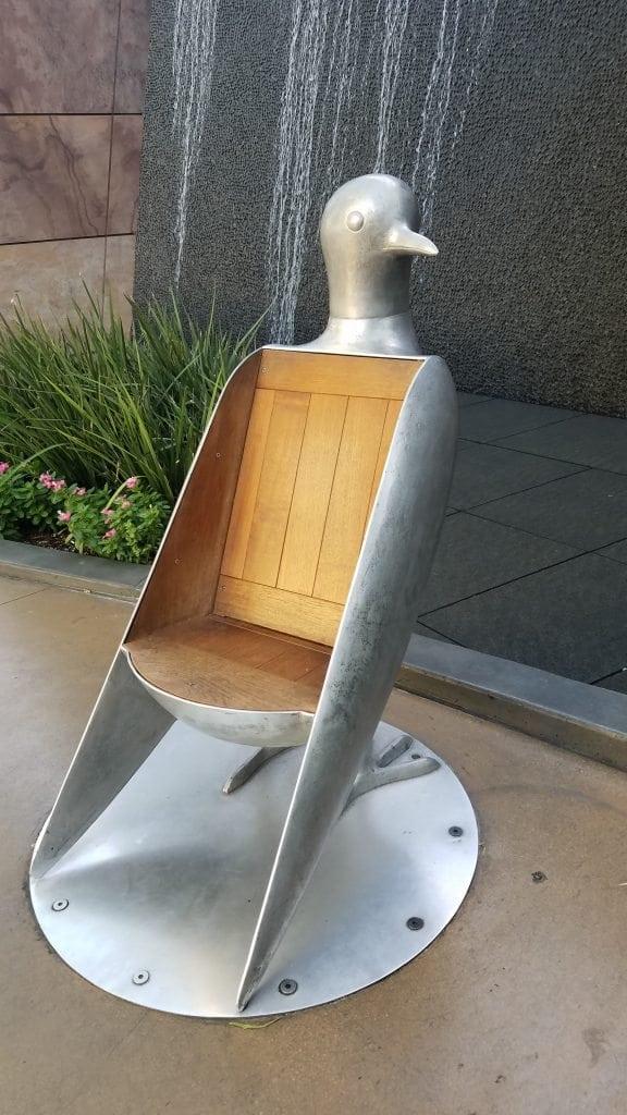 Aria bird chair