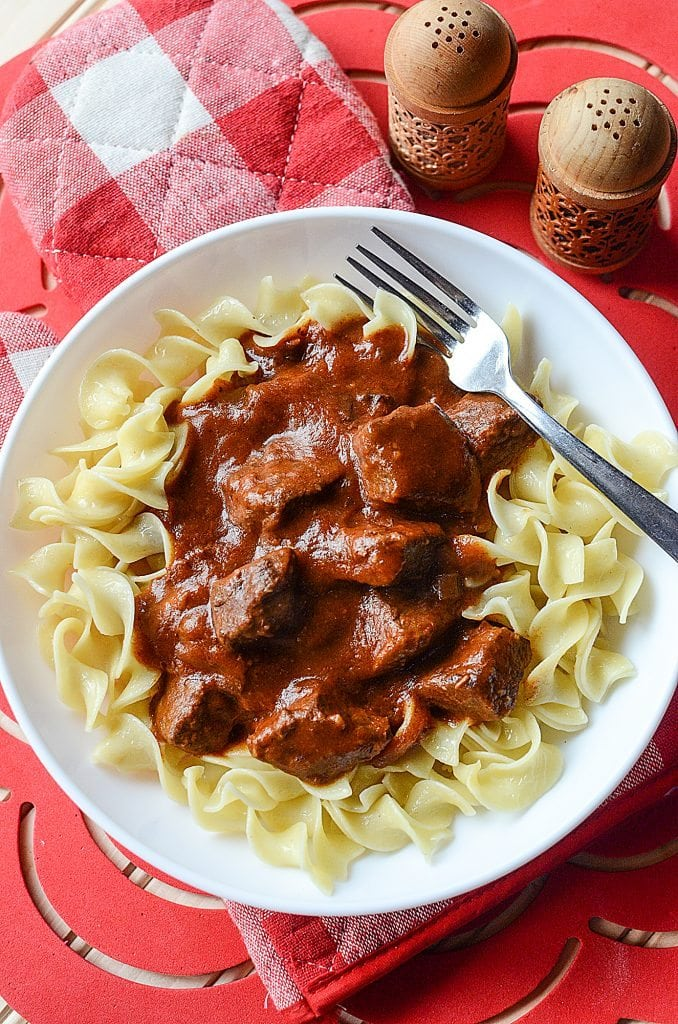 Crock Pot Beef Goulash Is The Perfect Comfort Food Recipe So Easy To Make With