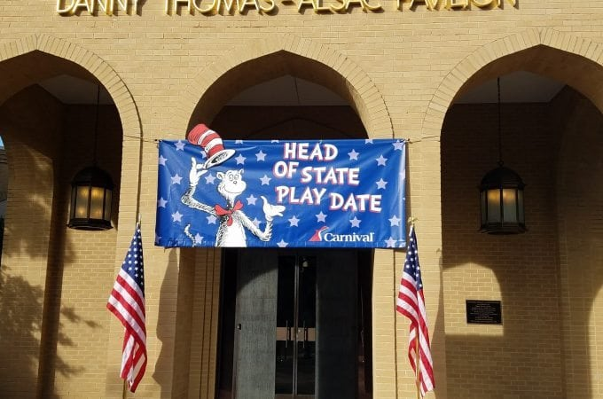 Carnival Cruise Day of Play at St. Jude Hospital in Memphis