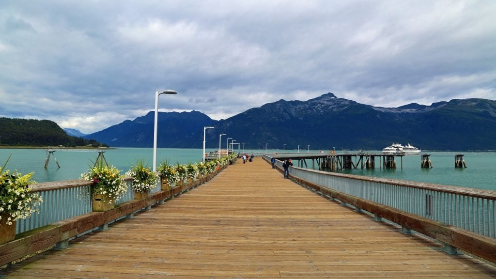 Dock at Haines Alaska