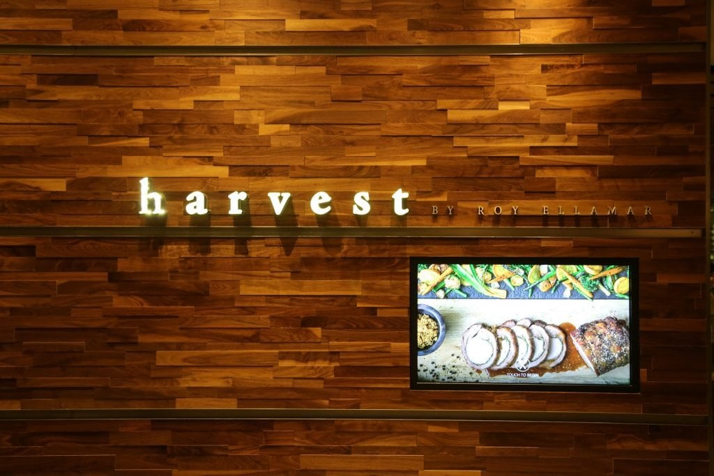 Entrance to Harvest at Bellagio