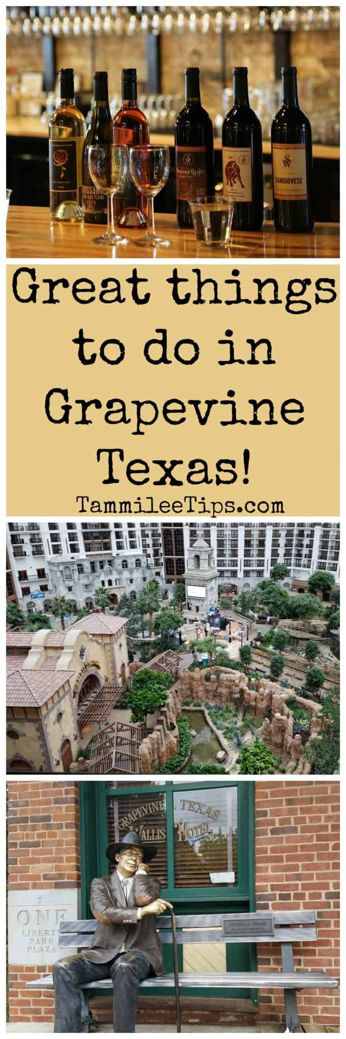 THINGS TO DO IN GRAPEVINE TX