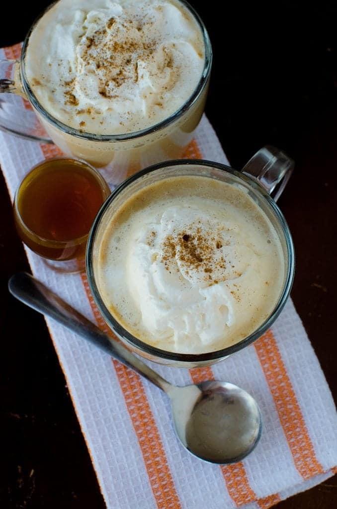 Crock Pot Pumpkin Spice Latte Recipe