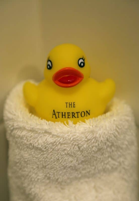 The Atherton Hotel at Oklahoma State University in Stillwater, Oklahoma