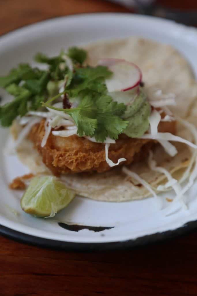 Taco in Puerto Vallarta