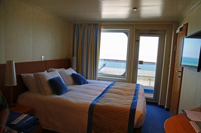 Carnival Vista balcony stateroom photo tour and review