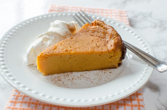 Crock Pot Pumpkin Pie Pudding Cake Recipe
