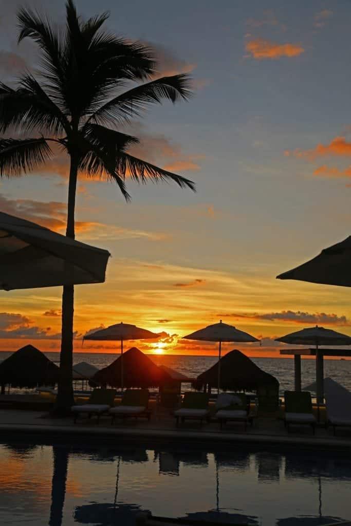 sunset-at-the-pool-villa-premeire-puerto-vallarta-mexico