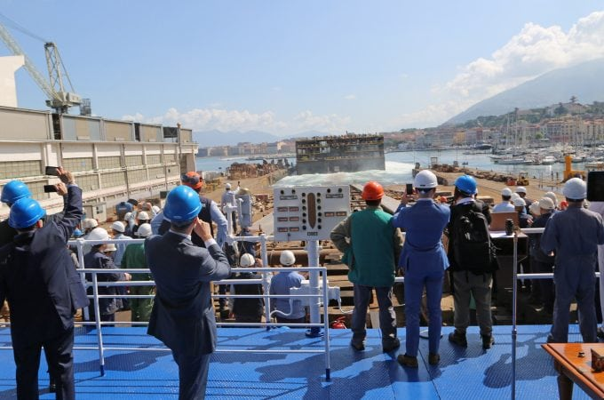 Carnival Horizon Keel Laying Ceremony in Italy