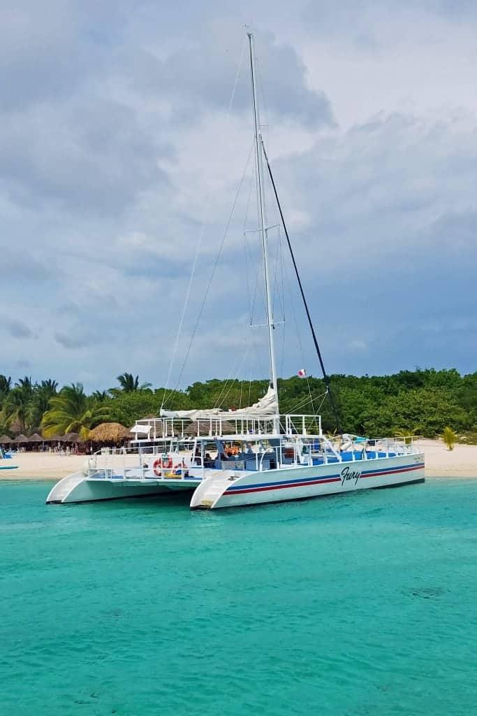 Cozumel Mexico Catamaran and Snorkel Excursion