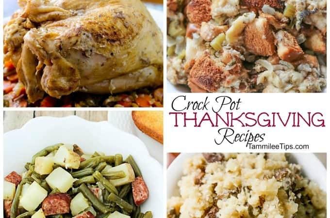 Crock Pot Thanksgiving Recipes