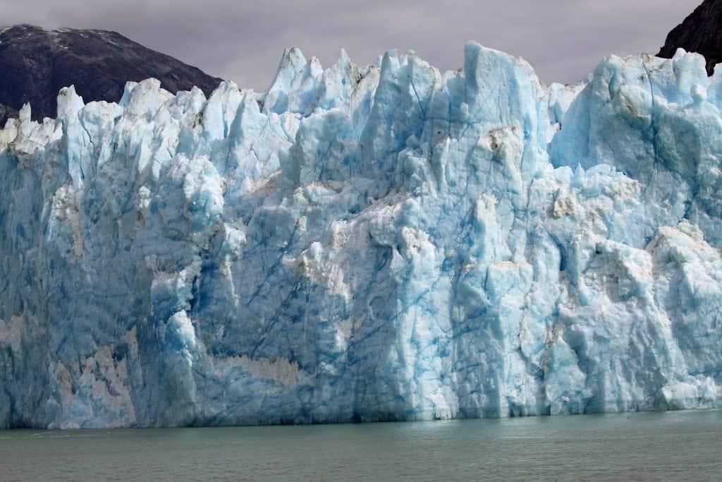 Glacier at Tracy Arm Fjord