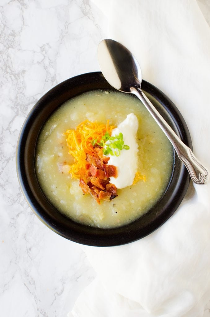 Creamy bacon potato soup recipes