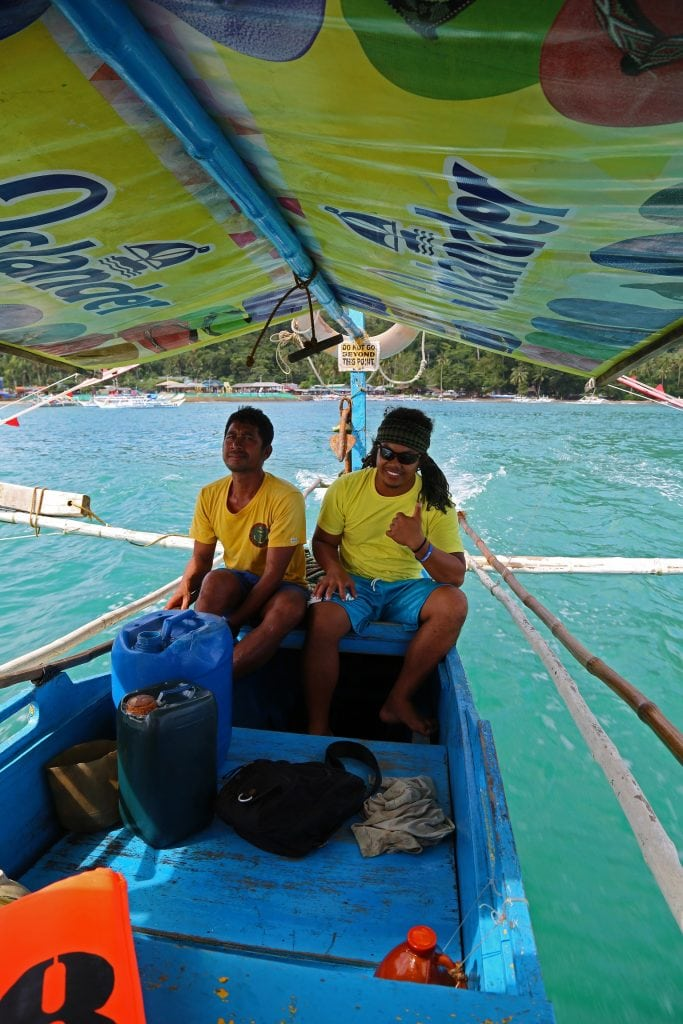 boat-guides-on-underground-cave-tour-phillipines