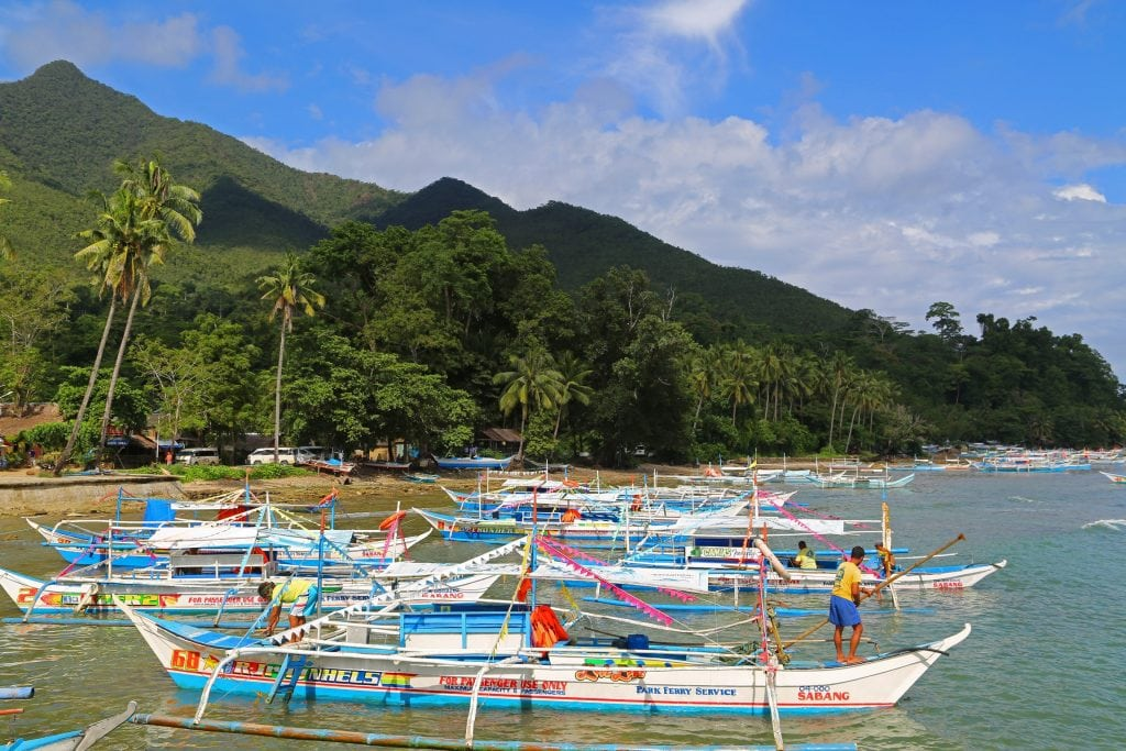 boats-for-underground-cave-tour-phillipines