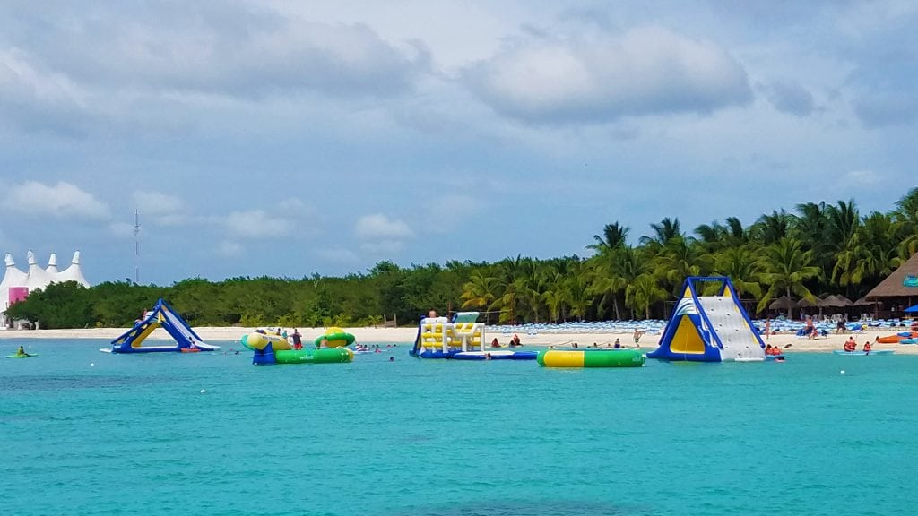 Water Toys in Cozumel Mexico