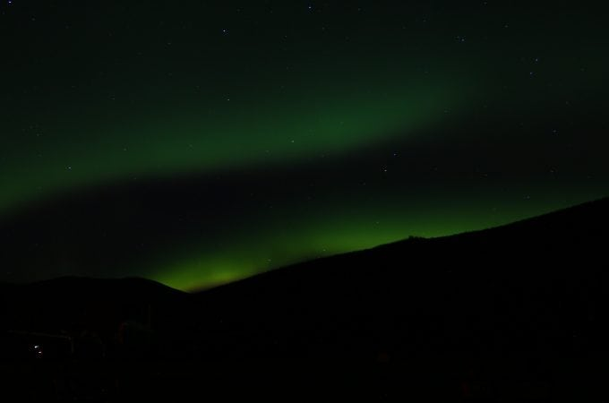 The hunt for John's Unicorn…the Northern Lights