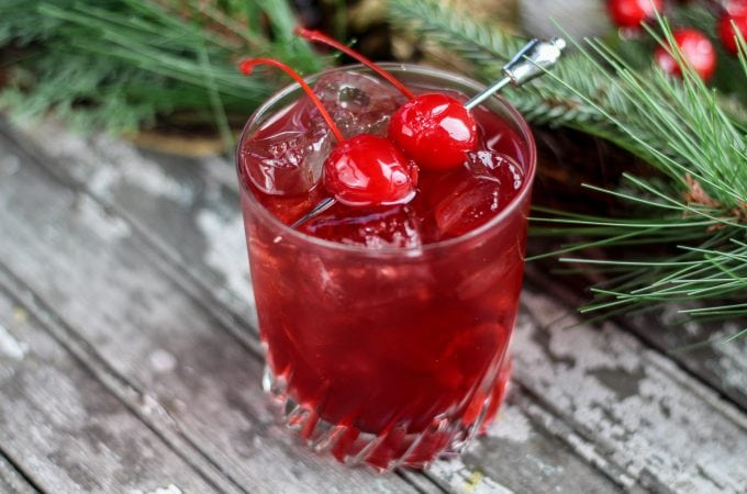 Mulled Cherry Cider Cocktail Recipe