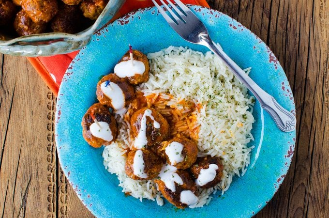 Crock Pot Buffalo Chicken Meatball Recipe!