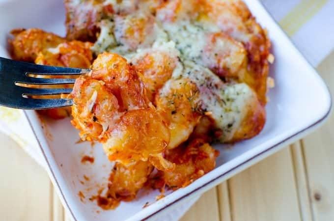 Cheesy Gnocchi Casserole Recipe