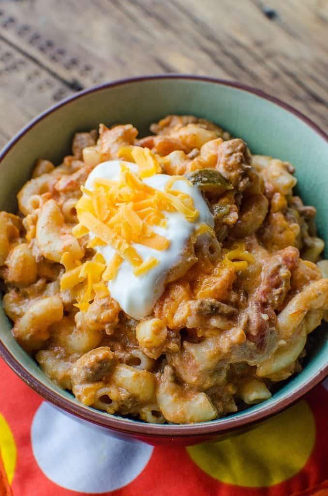 Crock Pot Taco Pasta Recipe Tammilee Tips