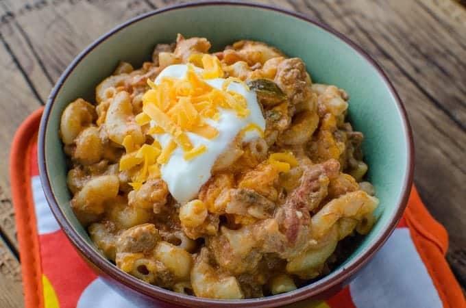 Crock Pot Taco Pasta Recipe
