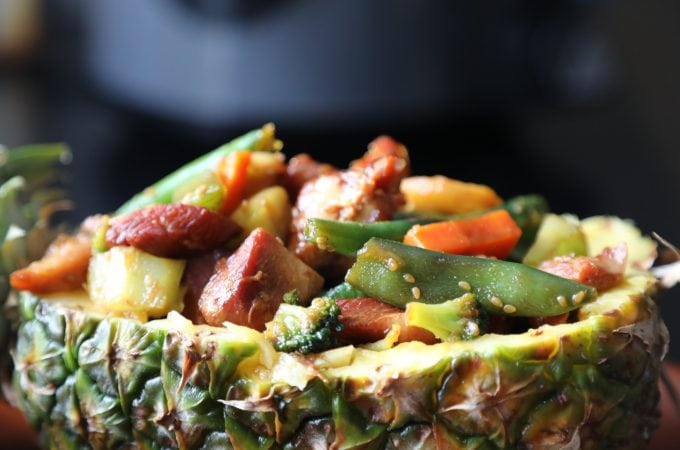 Slow Cooker Crock Pot Teriyaki Chicken and Veggies Recipe
