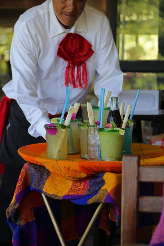 drinks-at-puerto-vallarta-botanical-garden