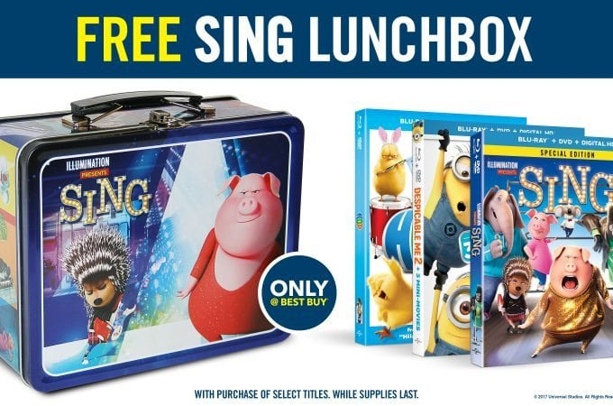 Family movie night with Sing and a great deal from Best Buy!