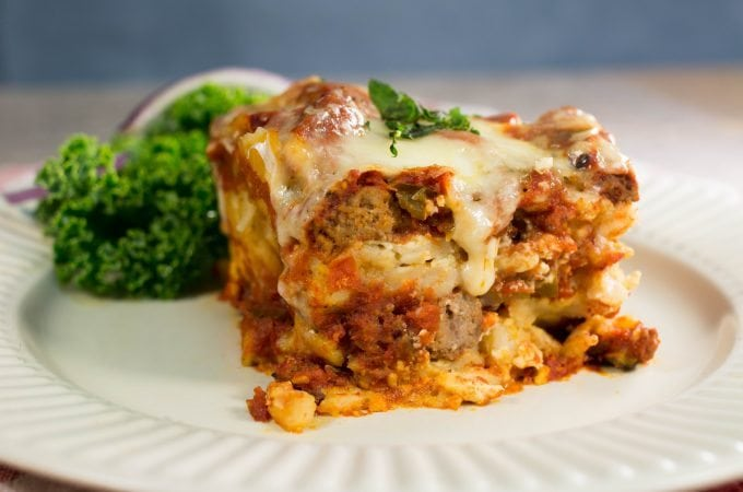 Crock Pot Slow Cooker Lasagna Recipe