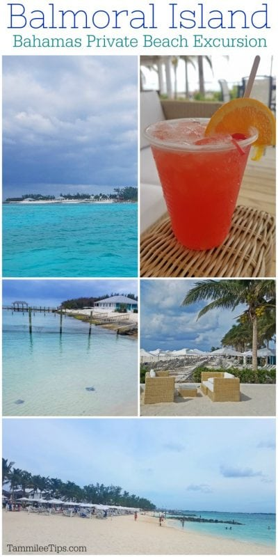 Balmoral Island Bahamas Private Beach Excursion! A great cruise excursion when traveling to Nassau Bahamas #cruise #vacation #island #bahamas
