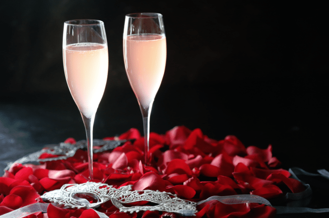 Plan A Girls Night In with this Kinky Bubbles Cocktail Recipe!
