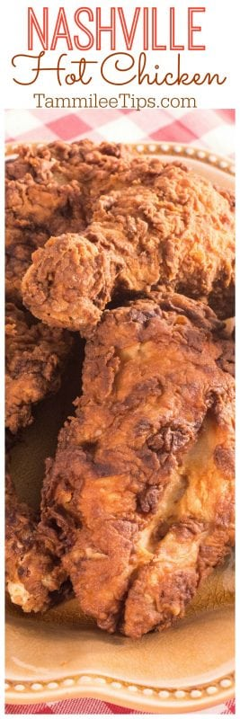 How to make Nashville Hot Chicken Recipe at home! Perfect fun summer recipe for family dinners #chicken #recipe
