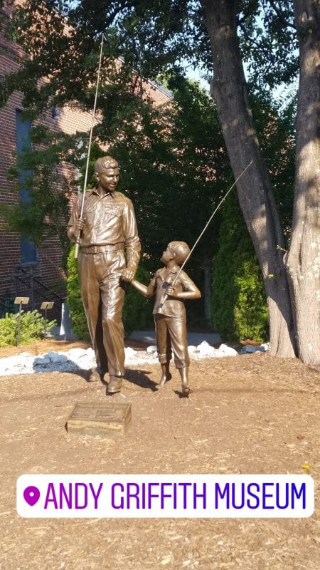 Andy Griffith Museum, Mount Airy North Carolina