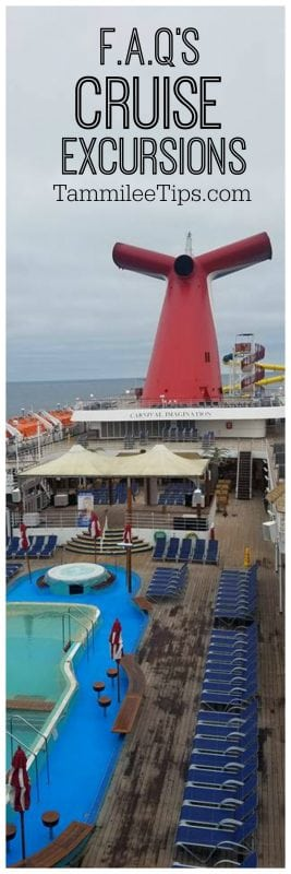 Cruise Excursion Tips and FAQ's! Perfect for first time cruisers or cruise veterans!