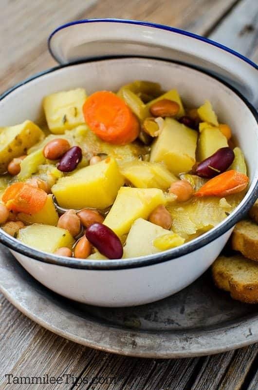 Slow Cooker Crock Pot Vegetarian Soup Recipe Tammilee Tips