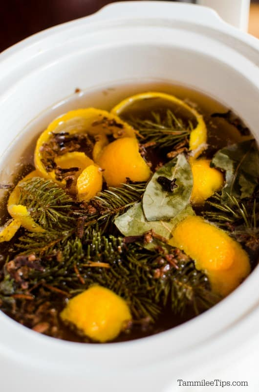 Make your house smell like Christmas with this simmering holiday potpourri in the slow cooker
